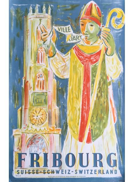 Raymond Meuwly. Fribourg. 1953