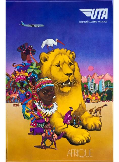 UTA. Afrique. Vers 1970.