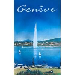 Genève. Vers 1955.