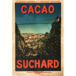 Cacao Suchard. Fribourg. Vers 1900.