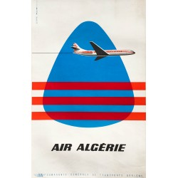 Aljanvic. Air Algérie. Vers 1965.