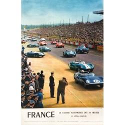 Yves Debraine. France, 24 Heures du Mans. 1959.