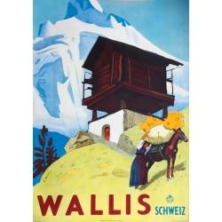 Eric Hermès. Wallis Schweiz. 1938.