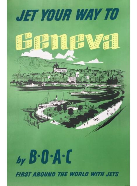 Geneva. BOAC. 1959.