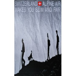 Switzerland, Alpine Air. Philip Giegel. 1969