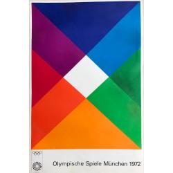 Max Bill. Olympische Spiele München. 1972.
