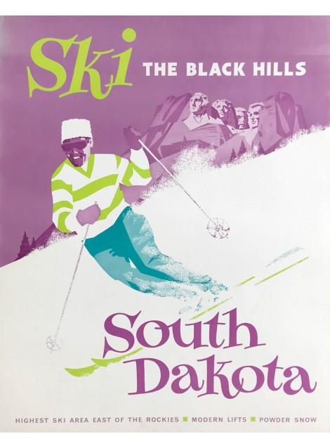 South Dakota. Ski. The Black Hills. Ca 1960.