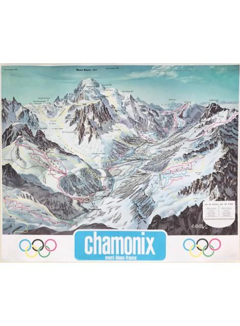 Louis Koller. Vallée de Chamonix - Mont-Blanc. 1962.