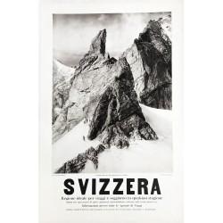 F. Simmen. Svizzera. Cabane Bertol, Valais. Ca 1925.
