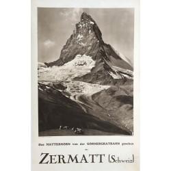 Wehrli. Zermatt. 1923.
