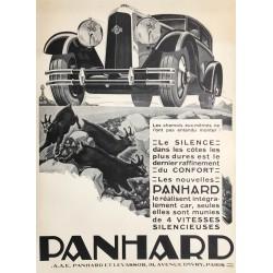 Alexis Kow. Panhard. Vers 1930.