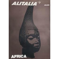 Alitalia Airlines. Africa. 1965.
