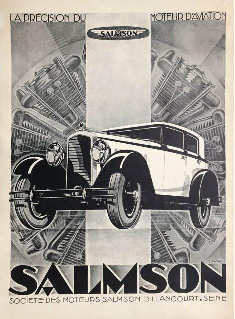 Alexis Kow. Salmson. Vers 1930.