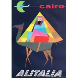 Milana. Alitalia. Cairo. Ca 1960.