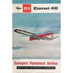 BEA. Comet 4B. 1961.
