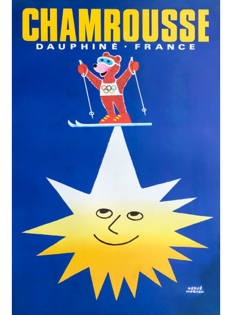Hervé Morvan. Chamrousse. Ca 1968.
