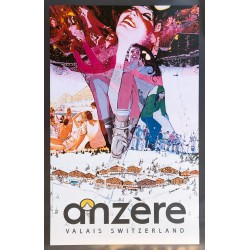 Steve Carpenter. Anzère. 1974.