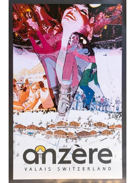 Steve Carpenter. Anzère. 1974.
