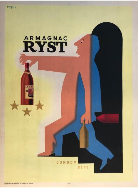 Raymond Savignac. Armagnac Ryst. 1943.