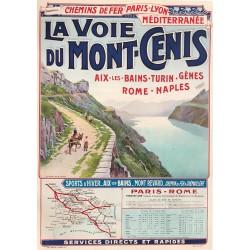 Joseph Jeannot. La voie du Mont-Cenis. 1912