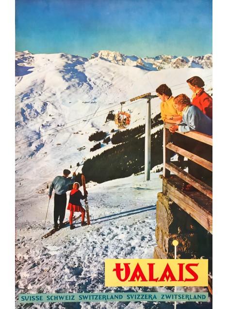 Valais, Heinrich Schellenberg, 1956