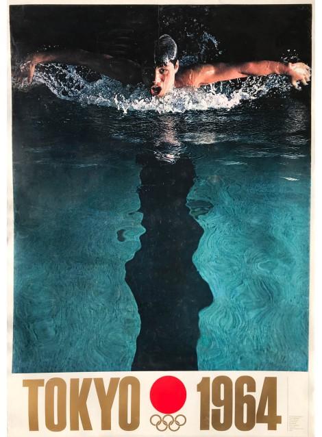 Yusaku Kamekura. Tokyo 1964. Olympic Games. 1964.