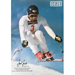 Fixation de ski Geze. Sepp Ferstl. Ca 1975.