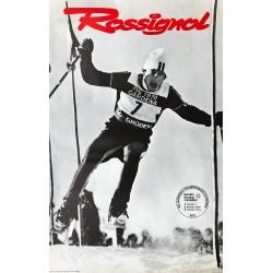 Skis Rossignol. Val Gardena. 1970.