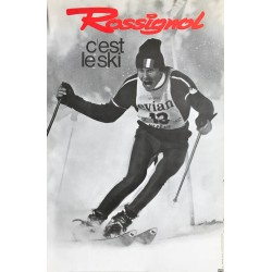 Skis Rossignol. Ca 1970.