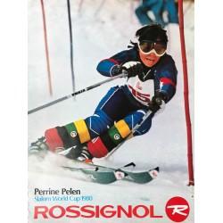 Skis Rossignol. Perrine Pelen.1980.