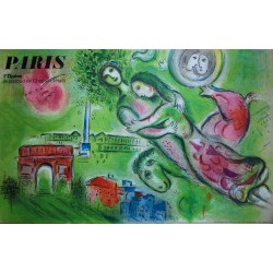Paris. Marc Chagall. 1965.