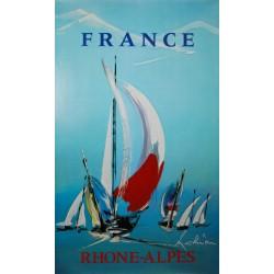 France Rhône-alpes. Georges Mathieu. 1975.