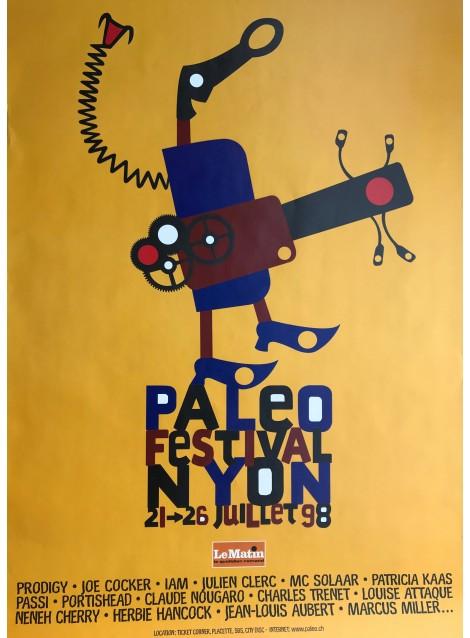 Joachim Meyer. Paleo Festival Nyon. 1998.