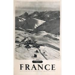 France. L'Alpe d'Huez. Ca 1950.