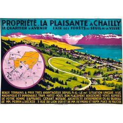 """""""La Plaisante"""" à Chailly, Lausanne. Circa 1935."""