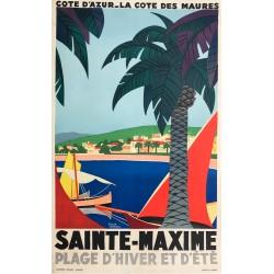 Roger Broders. Sainte-Maxime. Ca 1935.