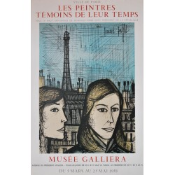 Exposition Paris. Bernard Buffet. 1958.