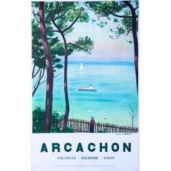 Albert Marquet (d'après). Arcachon. 1960.