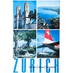 Zurich. Circa 1960.