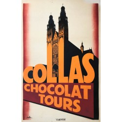 Eric de Coulon. Collas Chocolat Tours. 1933.