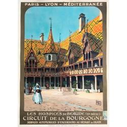 Alo. PLM Les Hospices de Beaune. 1924.