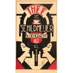 Thee Schildmeijer Bloemgracht 82. Circa 1925.