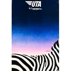 Le Ménager. UTA. Afrique. Vers 1980.