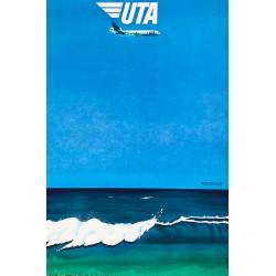 Le Ménager. UTA. Pacifique. Vers 1980.