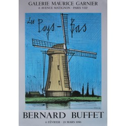 """Exposition Paris """"les Pays-bas"""". Bernard Buffet. 1986."""