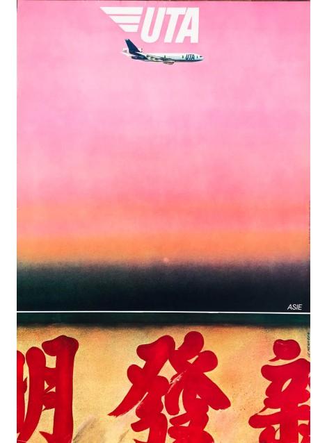 Le Ménager. UTA. Asie. Vers 1980.