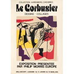 Christian Krayer. Le Corbusier. Dessins - Collages. Lausanne. 1976.