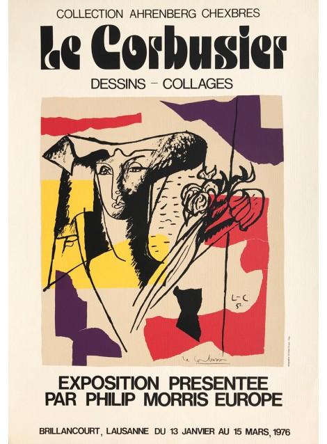 Le Corbusier. Dessins - Collages. Lausanne. 1976.