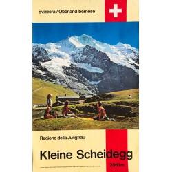 Kleine Scheidegg. Ca 1970.
