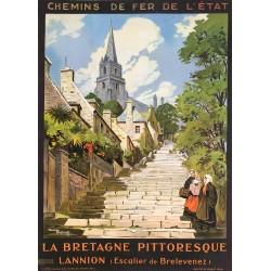 Maurice Toussaint. La Bretagne pittoresque. Lannion. 1929.
